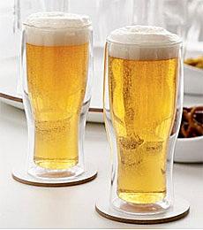 不结水滴的啤酒杯