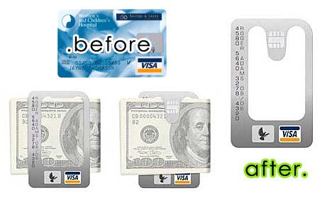 钱夹信用卡