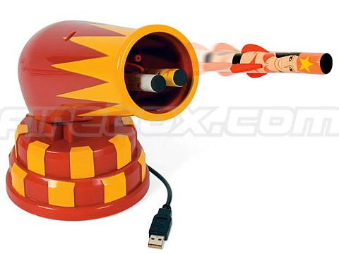 USB火箭发射器玩具