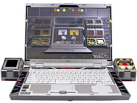 NEC核打击笔记本电脑