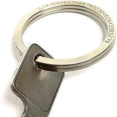 π银钥匙环