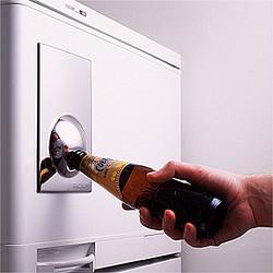 开瓶冰箱门贴