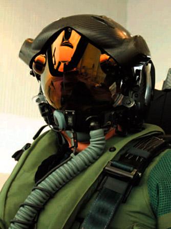 F-35飞行员的头盔