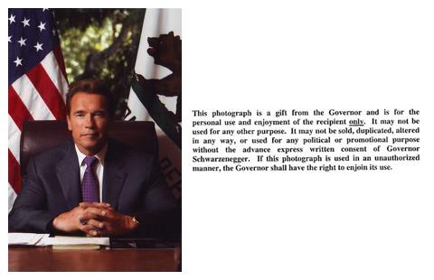 美国加利福尼亚州州长阿诺德.施瓦辛格